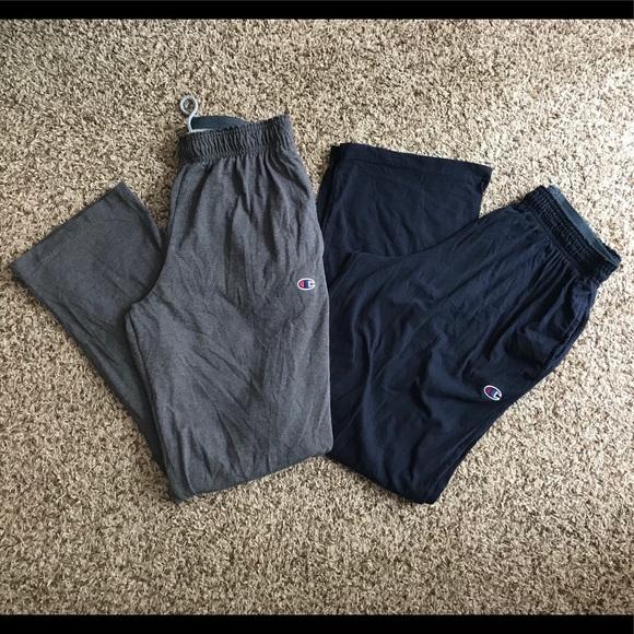 b81b30da9370 Champion Other - Champion men s jersey pants bundle